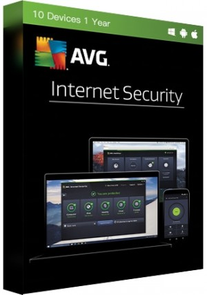 AVG Internet Security - 10 Devices/1 Year
