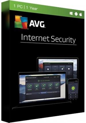 AVG Internet Security Multi Device - 1 PC/1Year key