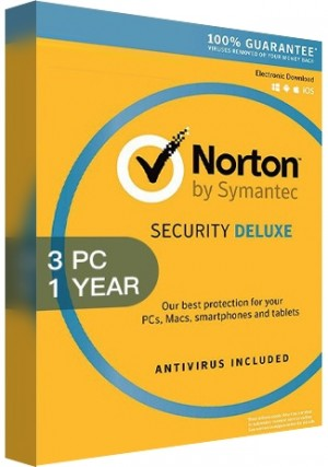 Norton Security Deluxe 3 - 3 Devices /1 Year