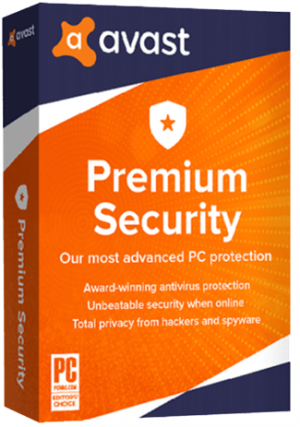 Avast Premium Security - 10 PCs/3 Years