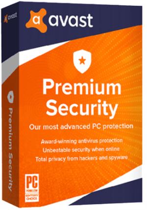 Avast Premium Security - 1 PC/3 Years