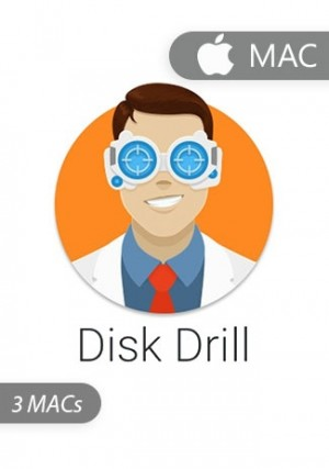 Disk Drill Professional for  3 Macs