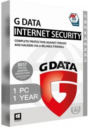 G Data Internet Security / 1 PC (1 Year)