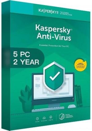 Kaspersky Antivirus 2020 / 5 PCs (2 Years)
