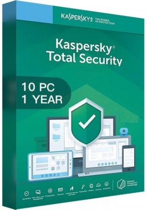 Kaspersky Total Security Multi Device 2020 / 10 Devices (1 Year)