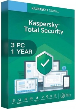 Kaspersky Total Security Multi Device 2020 / 3 Devices (1 Year)