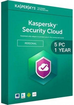 Kaspersky Total Security Multi Device 2020 / 5 Devices (1 Year)