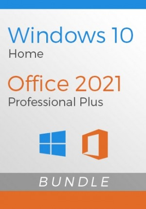 Windows 10 Home + Office 2021 Pro Plus- Package