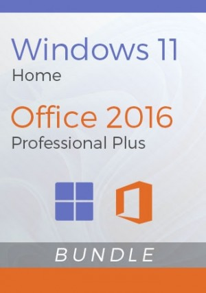 Windows 11 Home + Office 2016 Pro Plus - Package