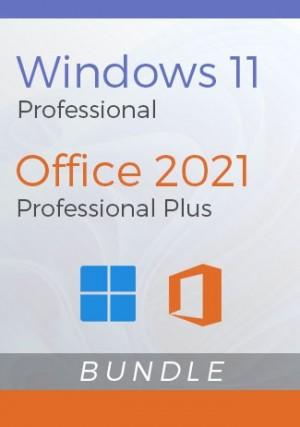 Windows 11 Pro + Office 2021 Pro Plus - Package
