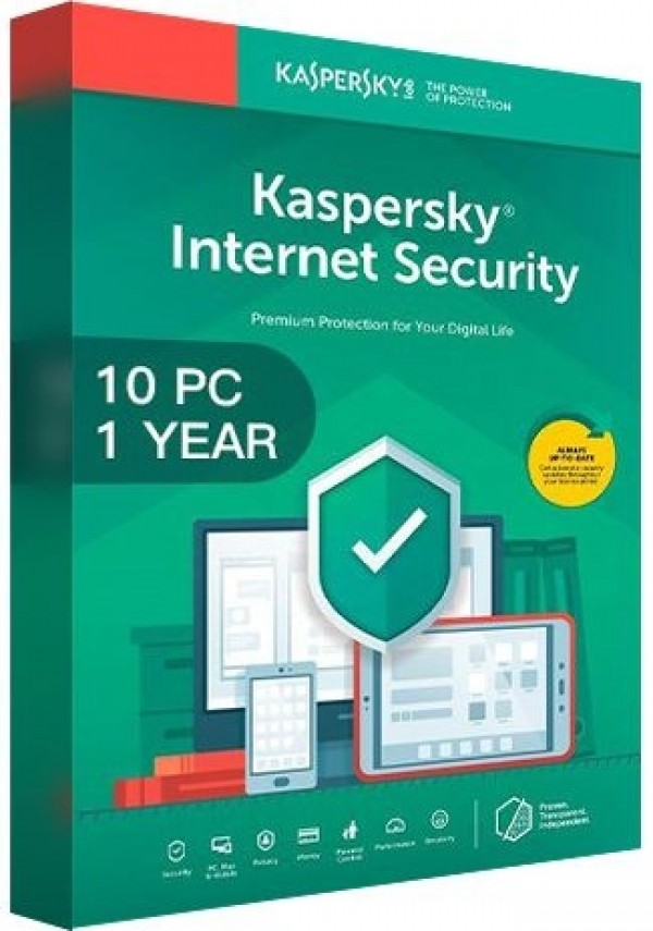 Kaspersky Internet Security Multi Device 2020 / 10 Devices (1 Year)