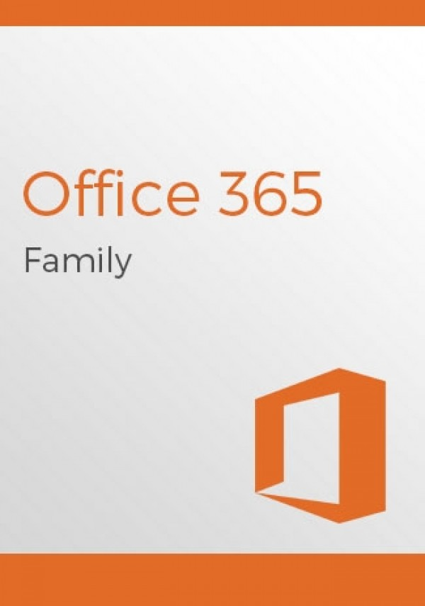 Microsoft Office 365 Family 6-month Subscription - Up to 6 Users