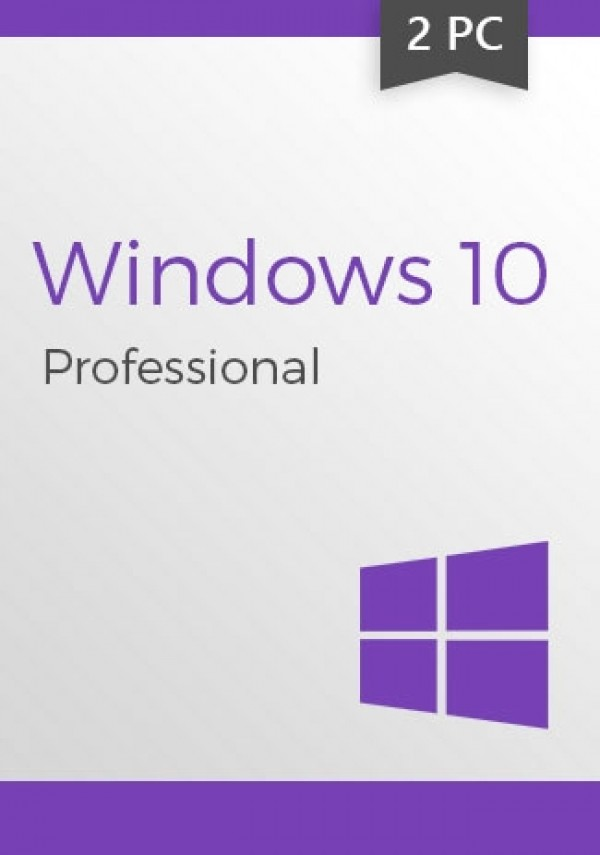 Windows 10 Professional (32/64 Bit) (2 PC)