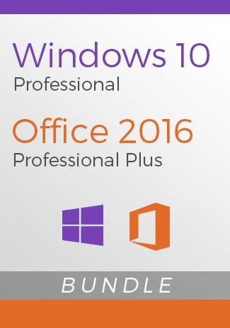 Windows 10 Pro + Office 2016 Pro - Package