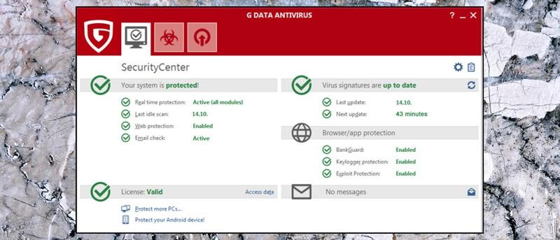 GData Antivirus 1 PC 1 Year